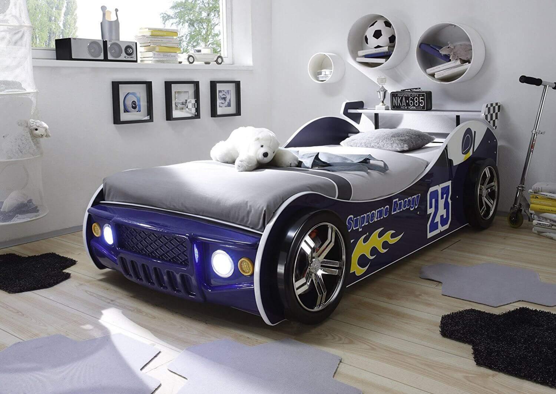 autobett mit licht. Black Bedroom Furniture Sets. Home Design Ideas
