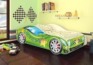 Autobett grün