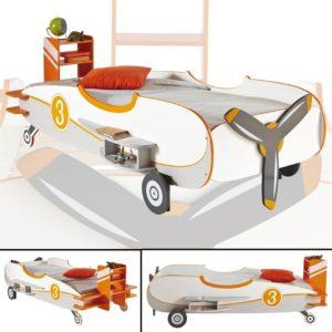 Kinderbett im Flugzeugdesign