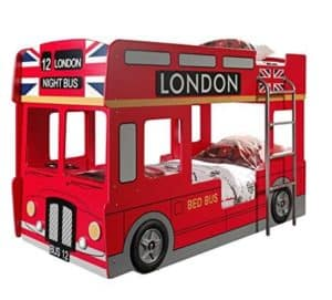 Kinderhochbett Bus
