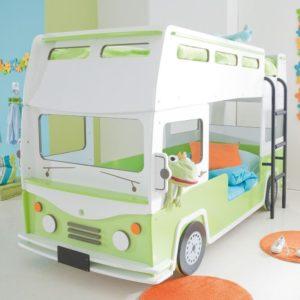 Kinderbett Bus, Etagenbett, Hochbett