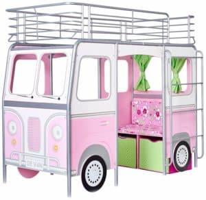 Kinderbett Autobus für Mädchen