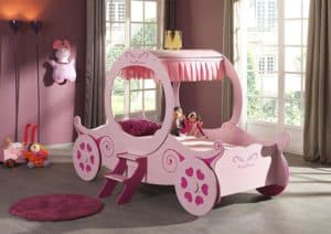 Kinderbett Mädchen, Kutsche