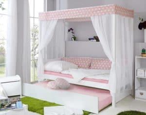 Mädchen Kinderbett